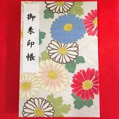 ①御朱印帳(12×18cm)国産白奉書紙・カバー付き