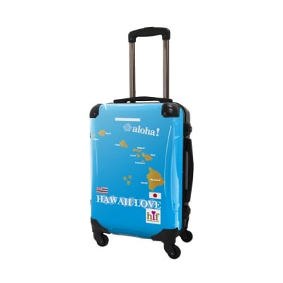 ALOHA!スーツケース Mサイズ ハワイ州観光局掲載「All Hawaii」限定版 OGコレクション