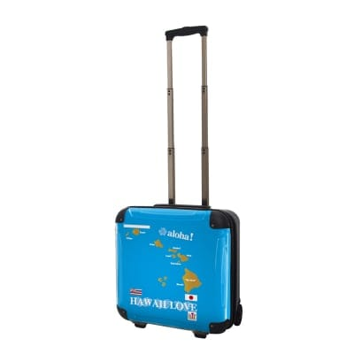 ALOHA!スーツケース Sサイズ ハワイ州観光局掲載「All Hawaii」限定版 OGコレクション