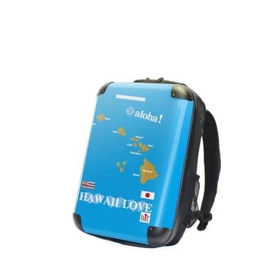 [複製]ALOHA!スーツケース リュック Lサイズ ハワイ州観光局掲載「All Hawaii」限定版 OGコレクション
