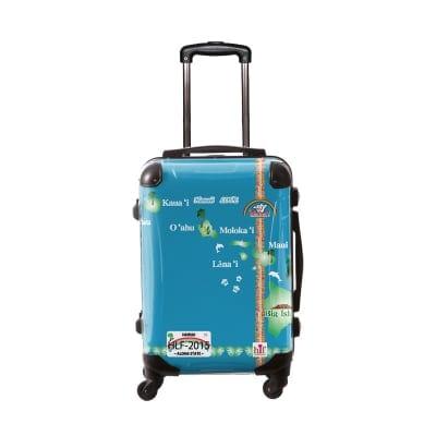 新色ALOHA!スーツケース Lサイズ ハワイ州観光局掲載「All Hawaii」限定版ハワイアングリーン【アロハ!企画対応】