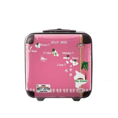 新色ALOHA!スーツケース Sサイズ ハワイ州観光局掲載「All Hawaii」限定版ロイヤルピンク【アロハ!企画対応】