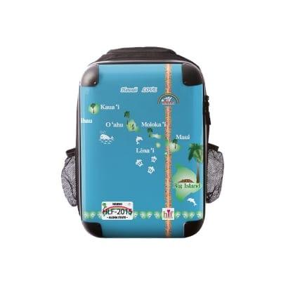 新色ALOHA!スーツケース リュック Lサイズ ハワイ州観光局掲載「All Hawaii」限定版 ハワイアングリーン【アロハ!企画対応】
