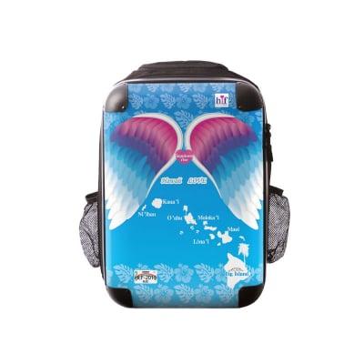 新色ALOHA!スーツケース リュック Lサイズ ハワイ州観光局掲載「All Hawaii」限定版 ハピネスウインググリーン【アロハ!企画対応】