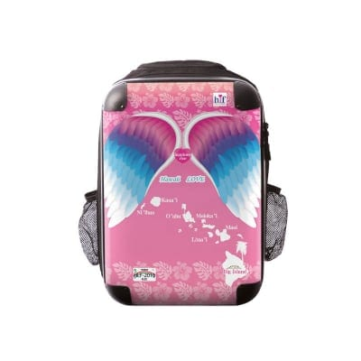 新色ALOHA!スーツケース リュック Sサイズ ハワイ州観光局掲載「All Hawaii」限定版 ロイヤルピンク【アロハ!企画対応】