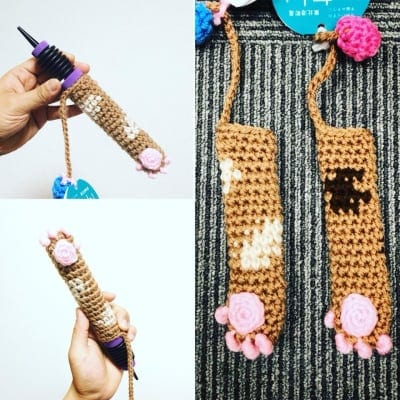 【手編み】猫の手グリッパー(160ポンプ用)