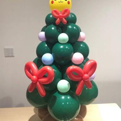 【特注】キャラクター付きクリスマスツリー