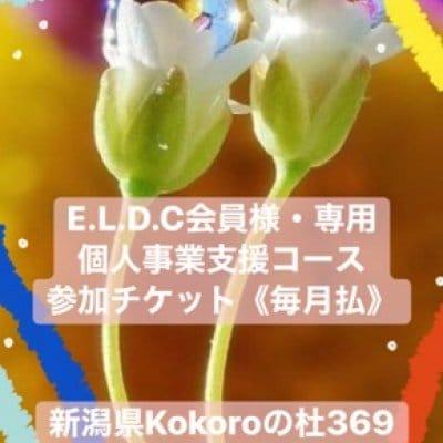 E.L.D.C. 自己探究育みグループコンサル1年コース参加チケット(毎月払い)|新潟県kokoroの杜369みろく