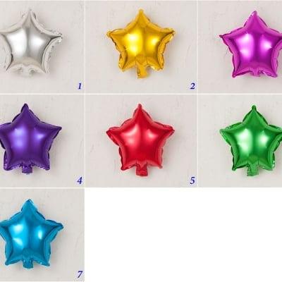 選べる アルミバルーン 25cm 星