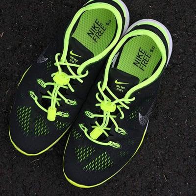 《単品》結ばない靴紐〜LOCK LACES〜《Sour Green Apple》全米売り上げNo.1【正規販売店】の画像2