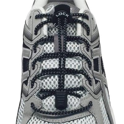 《単品》結ばない靴紐〜LOCK LACES〜《Black》全米売り上げNo.1【正規販売店】