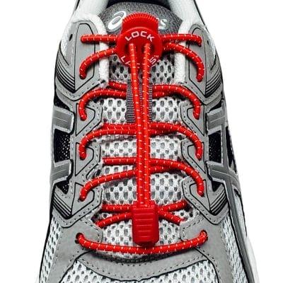 《単品》結ばない靴紐〜LOCK LACES〜《Red》全米売り上げNo.1【正規販売店】