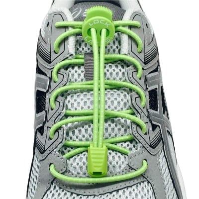 《単品》結ばない靴紐〜LOCK LACES〜《Sour Green Apple》全米売り上げNo.1【正規販売店】