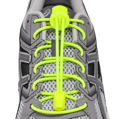 《単品》結ばない靴紐〜LOCK LACES〜《Neon Yellow 》全米売り上げNo.1【正規販売店】