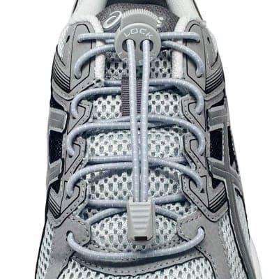《単品》結ばない靴紐〜LOCK LACES〜《Cool Gray》全米売り上げNo.1【正規販売店】