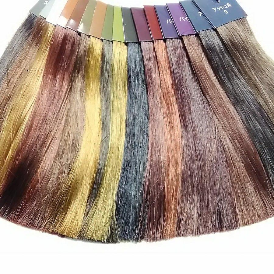 14分類のパーソナルカラー診断(フォーシーズン)+16色のヘアカラー(髪色)診断【予約チケット】のイメージその2