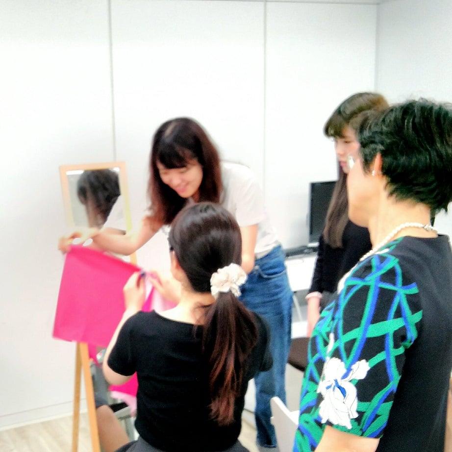 第2回パーソナルカラー交流会/7月22日(日)12時30分〜@渋谷のイメージその3