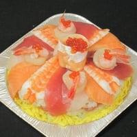 大切な記念日専用お寿司ケーキ(要予約商品)