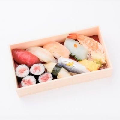 お昼何にしようかしら?とお悩みのあなたへ 彩り 江戸前にぎり寿司 (要予約商品)