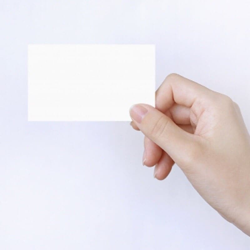 【送料無料】名刺(両面/カラー/91mm×55mm) 100部印刷のイメージその1