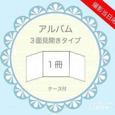 アルバム【3面見開き】1冊 撮影当日終了まで