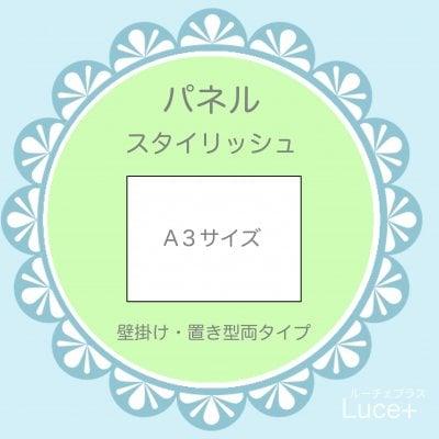パネルA3【スタイリッシュ】1枚