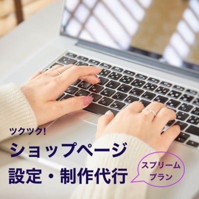 ツクツクページ基本設定代行|スプリームプラン