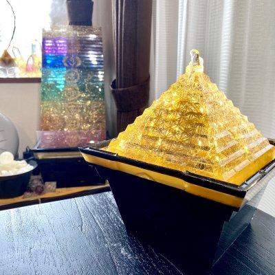 Hiro✡オリジナル オルゴライト®〜Orgolight〜黄金のピラミッドファウン...