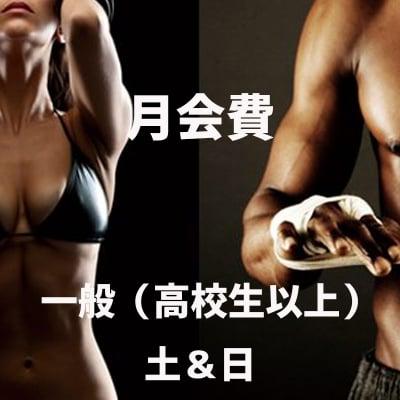 野口ボクシングジム・月会費《一般(高校生以上)土&日》
