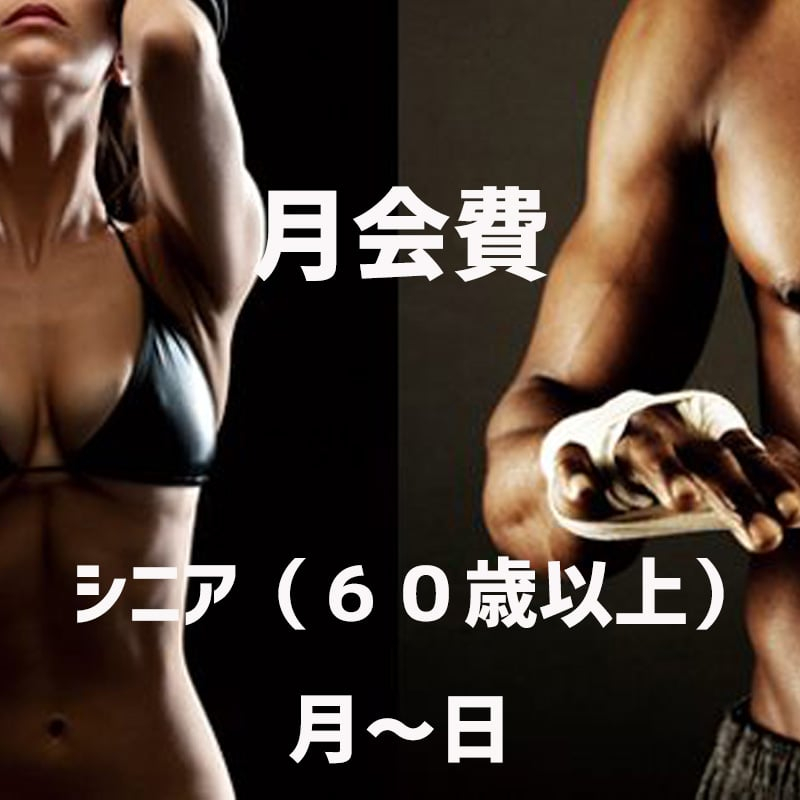 野口ボクシングジム・月会費《60才以上のシニア(月〜金)のイメージその1