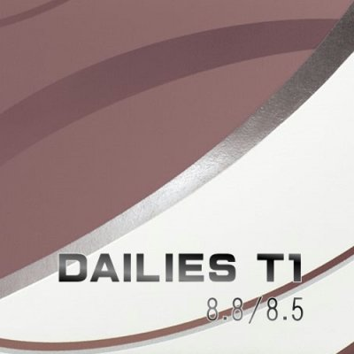 DAILIES T1 30枚入り 左右1箱ずつ 1セット