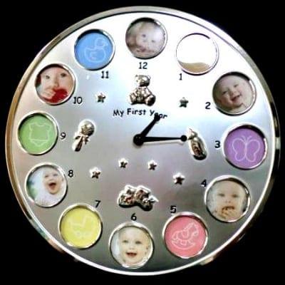 30cm新品!LADONNA ラドンナ フレーム式置き時計&掛け時計