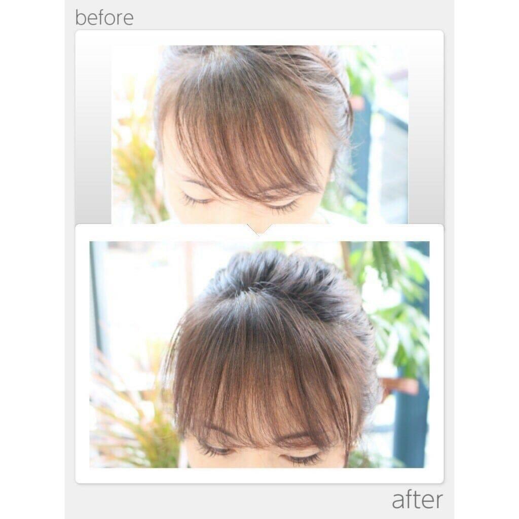 Beautyエクステ前髪ボリューム☆ウェブチケットのイメージその1