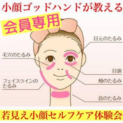 【会員専用】簡単小顔革命!小顔のプロが教える1日3分でシミ・たるみ・ほうれい線を消して小顔になれる方法がわかる秘密のお手入れ体験会@大阪
