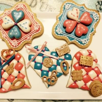 キルティングアイシングクッキー(額縁入り)