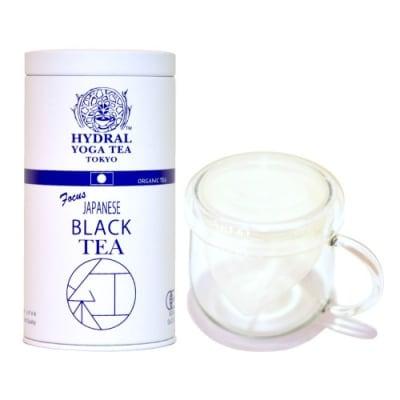 【SOLD OUT!】選べる国産オーガニックティー1種 + 茶こし・フタ付きスマートマグ セット|ポットいらずで本格ティータイム