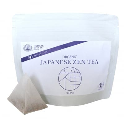 ティーバッグタイプ|オーガニック玄米ほうじ茶|Japanese Zen Tea (Organic Brown Rice & Roasted Green Tea) Teabags