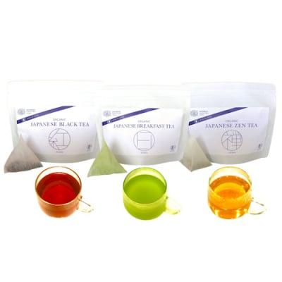ティーバッグタイプ|国産オーガニックティー3種または1種3袋セット|大切な人への贈り物にも。|HYDRAL YOGA TEA 3 Organic Tea Teabags Set