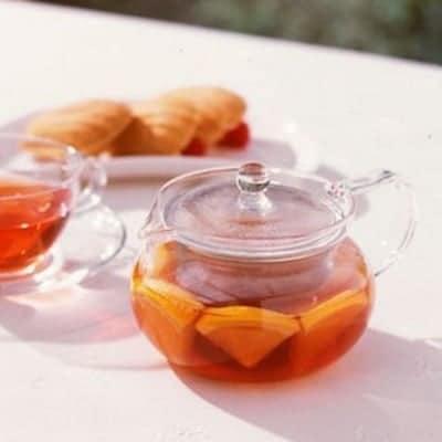 HARIOガラスティーポット450ml|茶こし付き|香り豊かな本格ティータイムを。