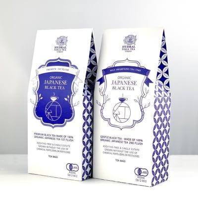 【Japanese Black Tea Set】国産オーガニック紅茶セット|春摘みプレミ...