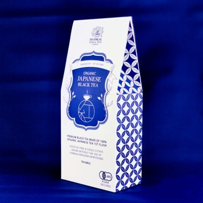 【Tea Bags】Japanese Organic Black Tea Premium|日本生まれのプレミアムオーガニック紅茶・春摘み|ティーバッグ|First Flush - Spring Picked
