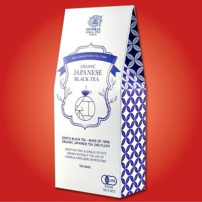 NEW!!ティーバッグタイプ|日本生まれのオーガニック紅茶・夏摘み|Japanese Organic Black Tea (Second Flush / Summer Picked) Teabags