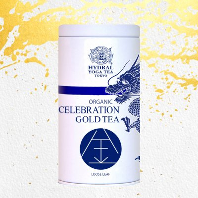 【NEW 12月初旬発送・ご予約品】Japanese Celebration Gold Tea (50g 龍...