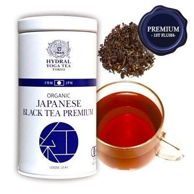 【NEW】Japanese Black Tea Premium (50g缶入) 春摘みプレミアム・オー...