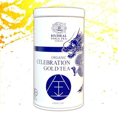 【NEW】Japanese Celebration Gold Tea (50g 龍神デザイン缶 紙箱入り) ...