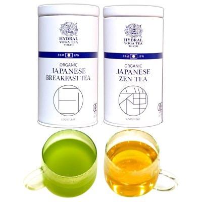 2 Japanese Organic Teas Set 国産オーガニックティー選べる2缶セット(5...