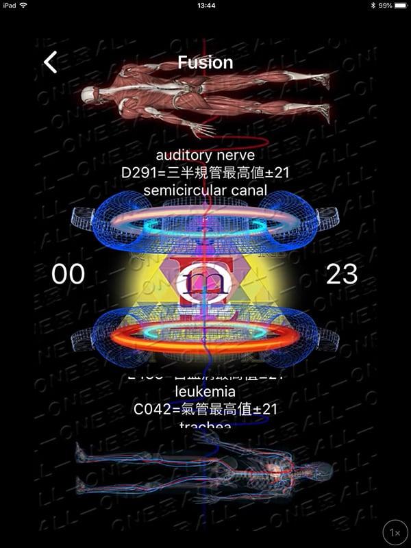 【現地払い】量子波動器の体内調整(全身ツボ押し)15分個別体験・脅威の水素入り珈琲付 江の島/腰越|量子波動分析器による全身調整のイメージその4