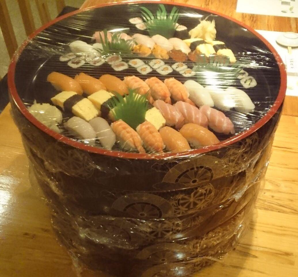 出前ウェブチケット|お寿司での宴会・出前なら『すし処築地』のイメージその1