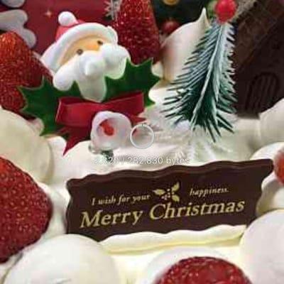 旭軒元直オリジナルクリスマスケーキ18センチ