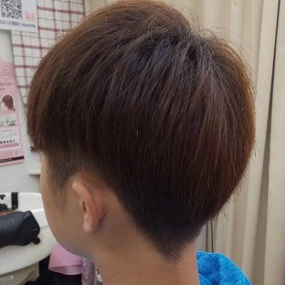 メンズカット高校生(シャンプー付)